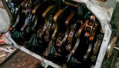 Почему чернеет масло в дизельном двигателе?