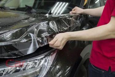 Как снять защитную пленку с капота автомобиля?